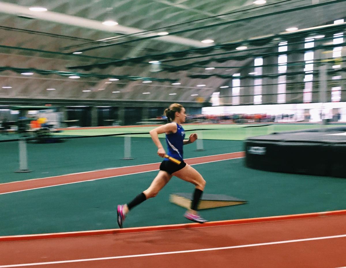 cedarville high school indoor track meet order