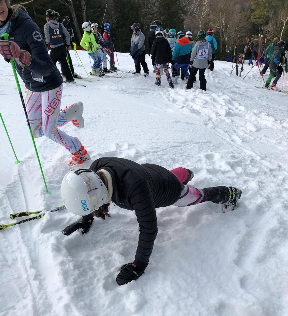 warm up - ski 1